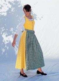 Dirndl dress. Burda 8448.