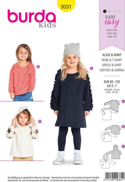 Blouses, hættetrøjer for children