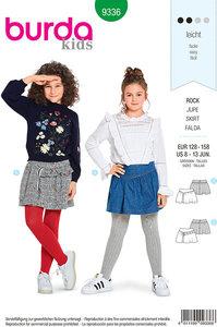 Skirts. Burda 9336.