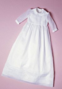 Christening ensemble. Burda 9804.