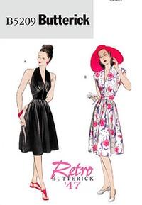 Dress. Butterick 5209.