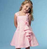 Girls dress. Butterick 5980.