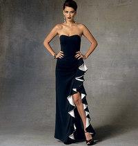 Dress Home, Badgley Mischka. Vogue 1426.