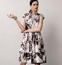 Dress - Marcy Tilton. Vogue 8876.