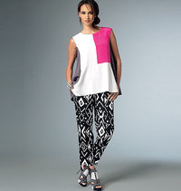 Top and Pants, Five Easy Pieces. Vogue 9067.