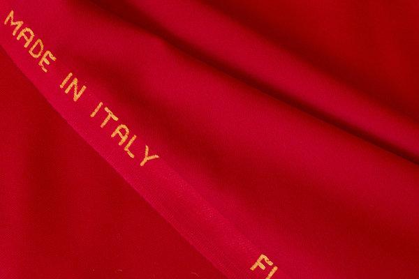 Beautiful italian wool-flannel in red