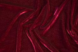 Bordeaux silky-velvet with stretch