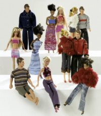 Burda 8576. Doll's clothes.