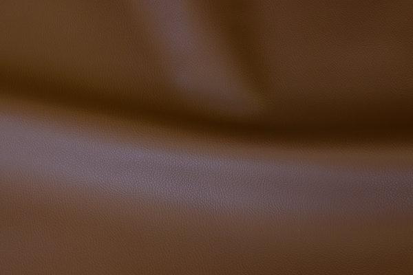 Faux hide in medium-brown