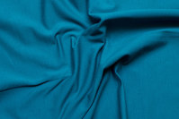 Green-petrol-colored cotton-jersey