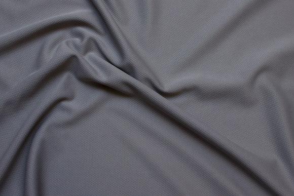 Grey lightweight sportsjersey in polyester