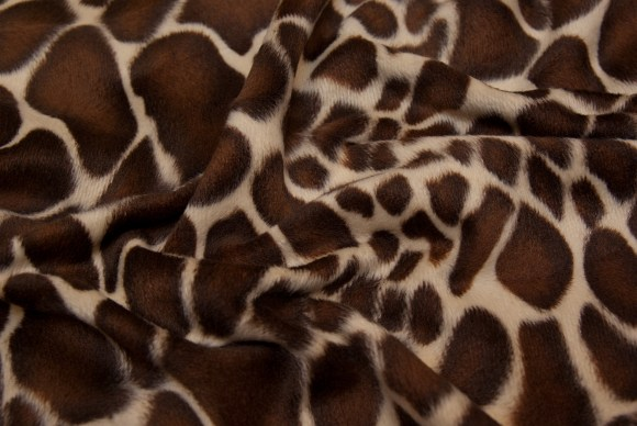 Lifelike giraf fake fur