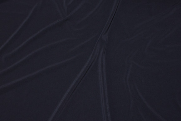 Lightweight, black polyester microjersey