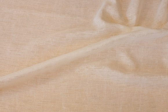 Off white, lightweight structure-woven polyester