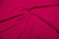 Pink striped stretch jersey