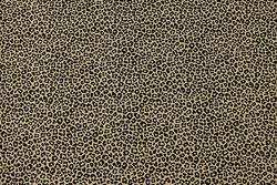 Sand-colored cotton-jersey with mini-animal-print