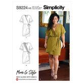 Wrap Dress. Simplicity 9224.