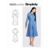 Dresses. Simplicity 9225.