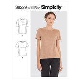 Knit Tee Shirt. Simplicity 9229.