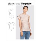 Tops. Simplicity 9230.