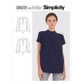Blouses. Simplicity 9231.