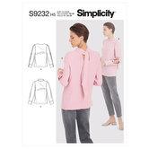 Tops. Simplicity 9232.