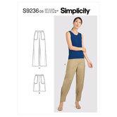 Pants. Simplicity 9236.