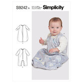 Babies Layette. Simplicity 9242.