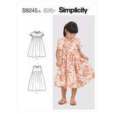 Childrens Dress. Simplicity 9245.