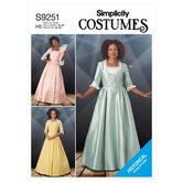Costumes. Simplicity 9251.