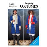 Unisex costumes. Simplicity 9252.