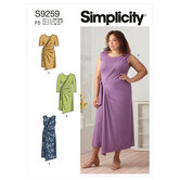 Knit dresses and tunic. Simplicity 9259.