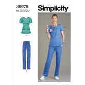 Scrubs. Simplicity 9276.
