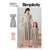 Childrens dresses. Simplicity 9277.