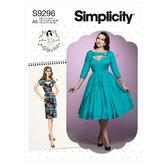 Dress. Simplicity 9296.