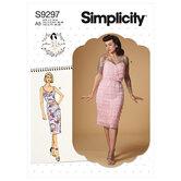 Dress. Simplicity 9297.