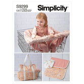 Baby accessories. Simplicity 9299.