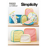 Appliance Covers. Simplicity 9303.