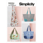 Bags. Simplicity 9304.