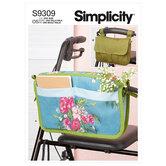 Walker Caddy and Bag. Simplicity 9309.