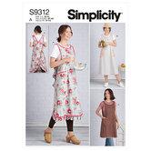 Aprons. Simplicity 9312.