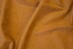 Soft cotton-corduroy in cognac-colored