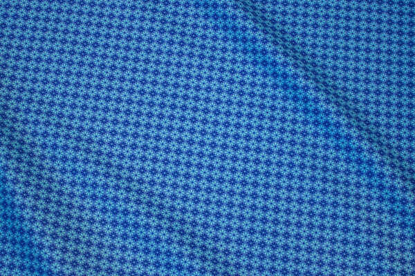 Soft, organic cotton in light blue and turqoise