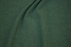 Softened bomuldsstrik in speckled almon green (look of wool-knit)