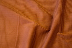 Stretch-corduroy in cinnamon colored