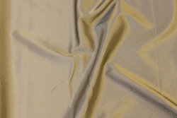 Stretch-satin in sand-colored