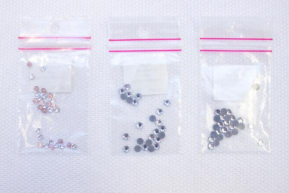 Swarowski stones for ironing