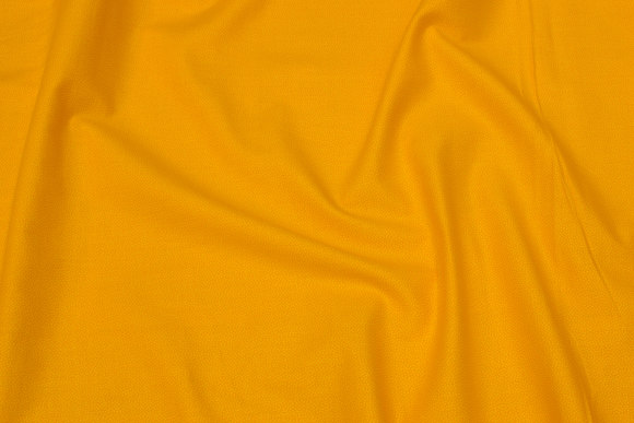 Yellow cotton with mikro-dots