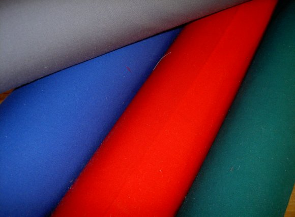Outdoor linen for awnings, tents etc.
