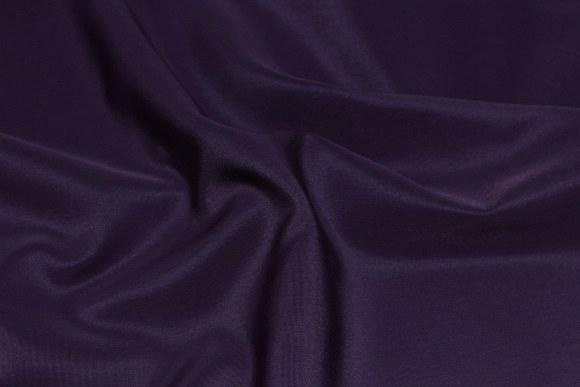 Dust-purple, soft, micro silk look